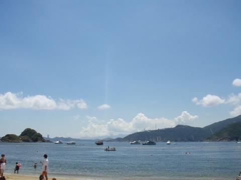海南島のビーチ