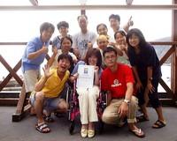 IAHD国際障害者ダイビング指導協会認定コース実施中